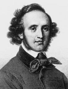 Felix Mendelssohn Portrait